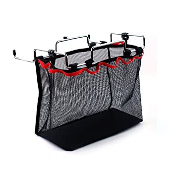 IFOYO - Organizador de almacenamiento para barbacoas al aire libre con soporte de hierro y bolsa