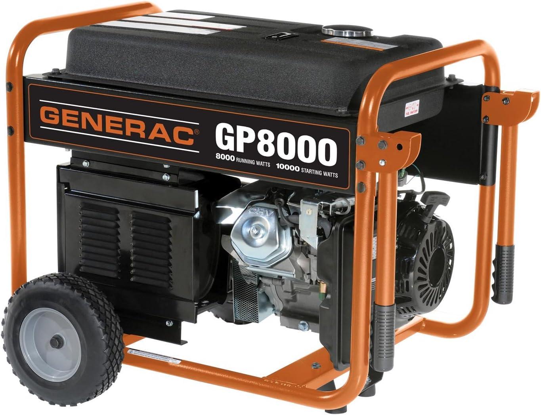 GP1800 to GP8000 Generac gP series Portable Generators