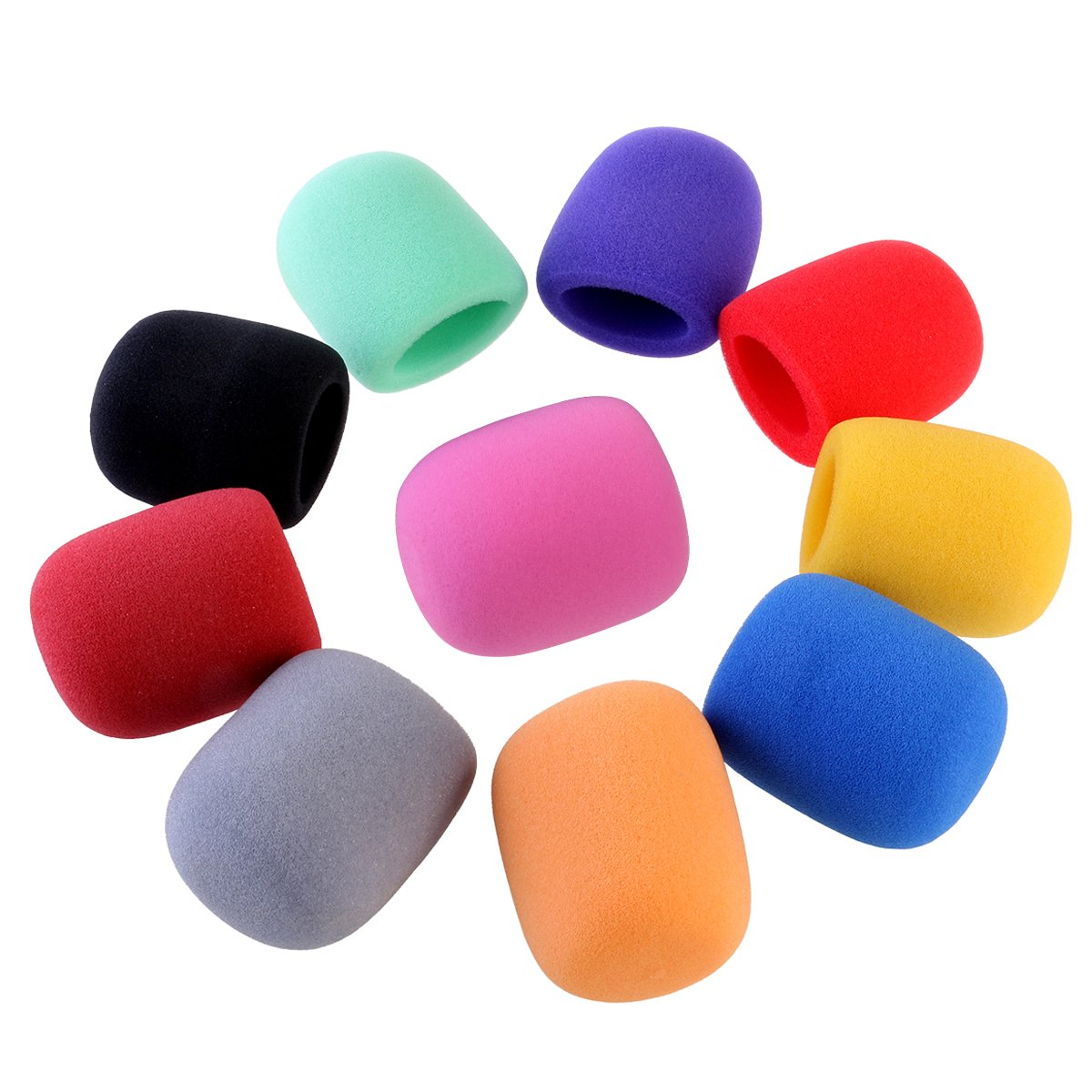ROSENICE Handheld Stage Microphone Windscreen Foam Cover 10 Colors ZA0949058Y1FO5272