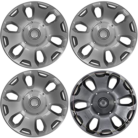 15 inch Hubcaps Best for 2010-2013 Ford Transit - (Set of 4)