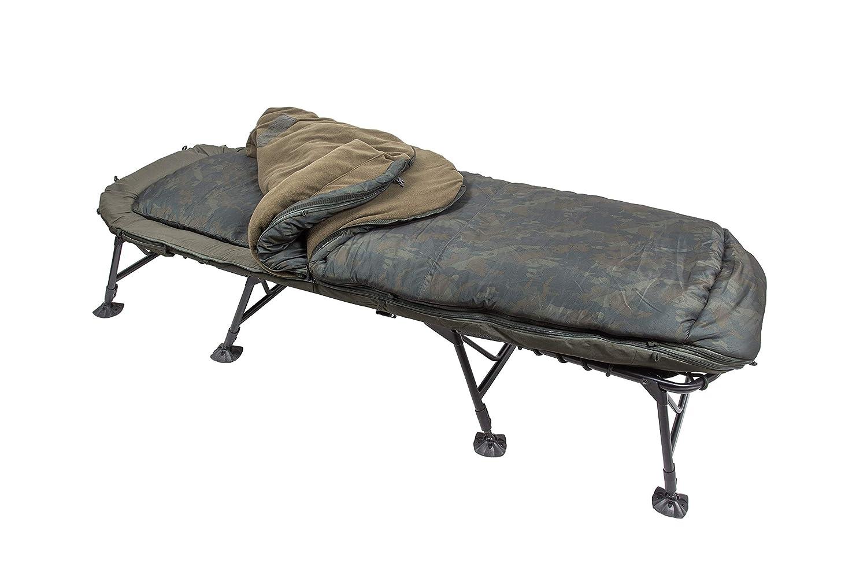 Schlafsack Nash Indulgence SS4 5 Season Bedchair Angelliege incl