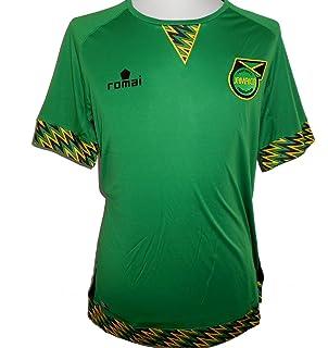 238f6ffa6 Airo Sportswear 2018-2019 Jamaica Home Concept Football Soccer T-Shirt.  £37.99 · Romai Jamaica National Team Men s Away Football Shirt 2015-2016