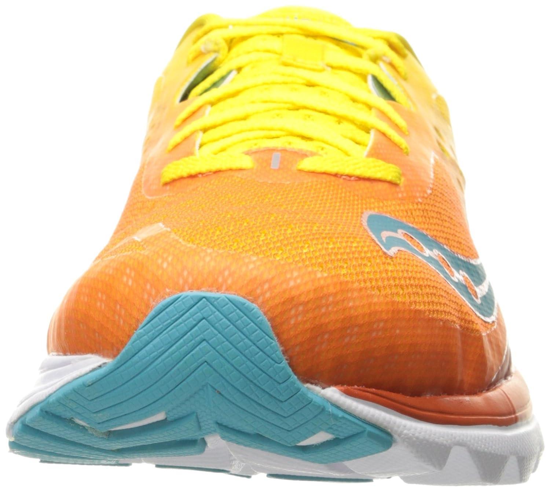 Saucony Woherren Kinvara Kinvara Kinvara 8 Running schuhe Orange Gelb Blau 5 M US 53912b