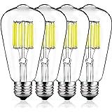 DORESshop Dimmable Vintage LED Edison Bulbs, 100W Equivalent LED Filament Edison Bulbs, ST64 Antique Vintage LED Bulb…