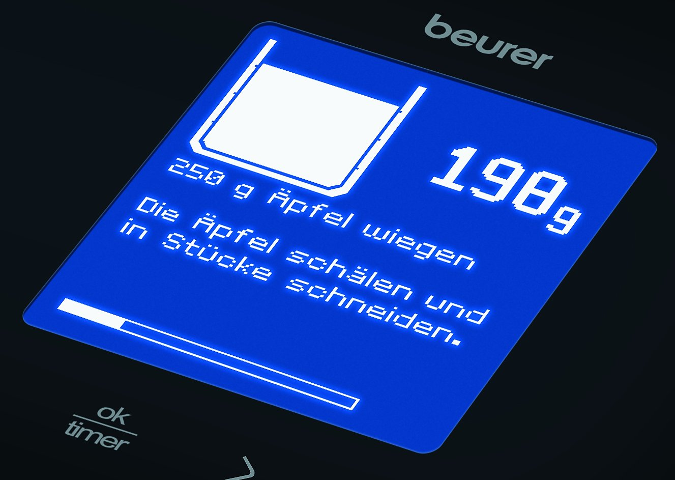 Beurer KS800 Electronic Kitchen Scale
