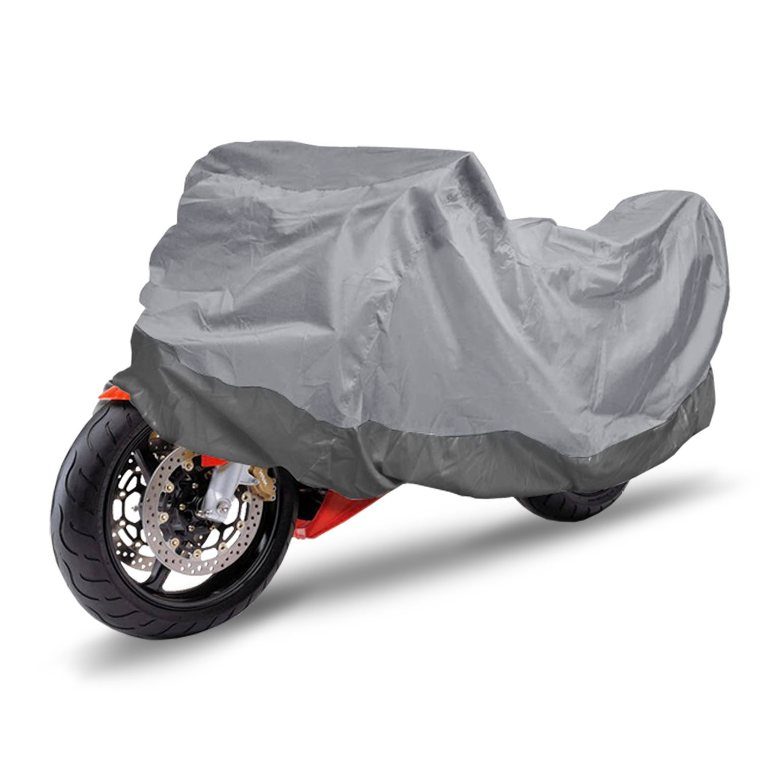 Yukon Glory All Season Waterproof Universal Motorcycle Cover Works for Most Motorcycles and Scooters