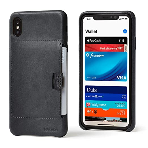 new arrival 279a6 4e1b3 Distil Union Wally Wallet Case for iPhone - Genuine Leather Case with Slim  Wallet to Carry ID, Credit Cards