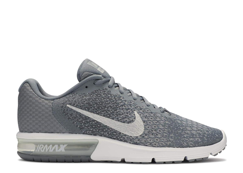 reunirse pestillo Sinceridad  Buy Nike Men's Air Max Sequent 2 Running Shoe (10. 5 D(M) US, Cool ...