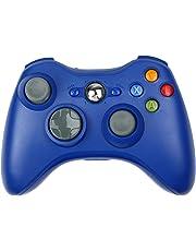 Xbox 360 Controlador de Gamepad, STOGA Mando de Xbox 360 Inalámbrico Controlador de Juego Joypad para Microsoft Xbox 360 PC Windows 7/ XP, Azul