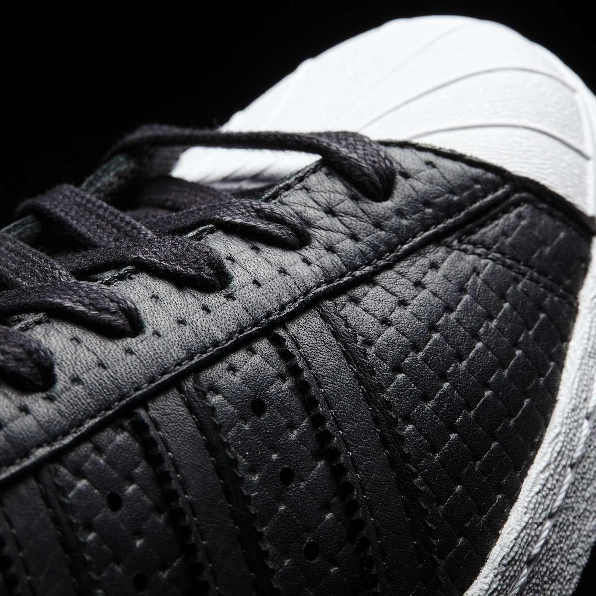 Adidas Superstar Herren 80's Woven Herren Superstar Turnschuhe Schwarz c90e6b