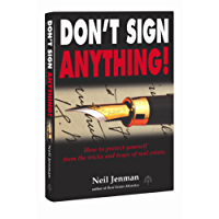 Don't Sign Anything