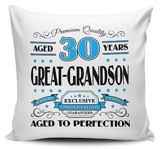 Premium calidad años 30 años Prelude - Funda para cojín ...