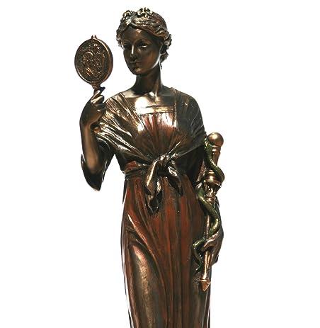 Amazon Metis Titan Goddess Of Prudence Holding Rod Statue