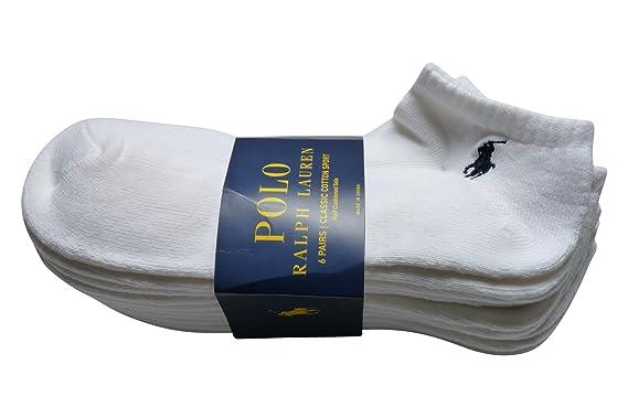 Polo Ralph Lauren - Calcetines de deporte - para hombre Blanco ...