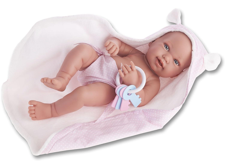 Antonio Juan Pfeife Neugeborenes, Puppe mit Handtuch (5094)