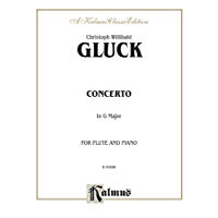Concerto in G Major: For Flute and Piano: 0 (Kalmus Edition)