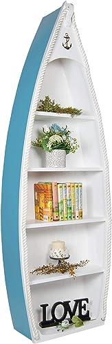 Coastal Boat Bookcase