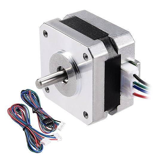 uxcell Motor paso a paso 42 Bipolar para 3d impresora CNC ...