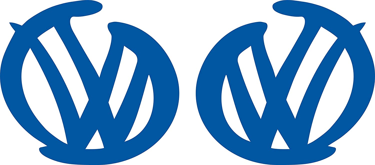 VW GIRLS LOGO VOLKSWAGEN VINYL DECAL STICKER MANY COLORS FREE SHIPPING