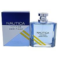 Nautica Cologne Voyage Heritage For Men EDT 3.3 / 3.4 Oz