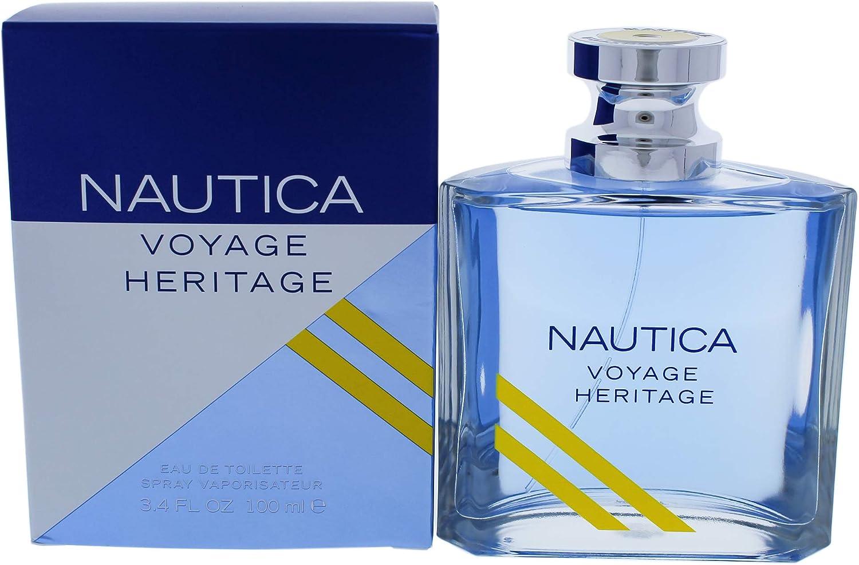 Nautica Voyage Heritage by Nautica Eau De Toilette Spray 3.4 oz / 100 ml (Men)