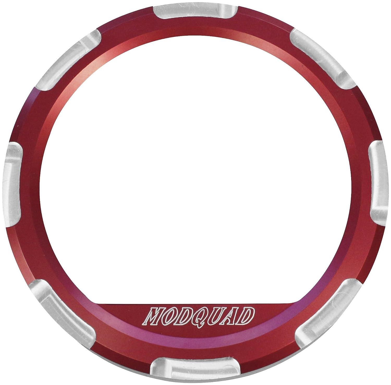Modquad Red Dash Gauge Bezel Polaris RZR TRTC2691