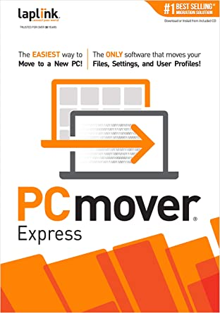 Amazon com: PCmover Express 11 (1 Use) [PC Download]: Software