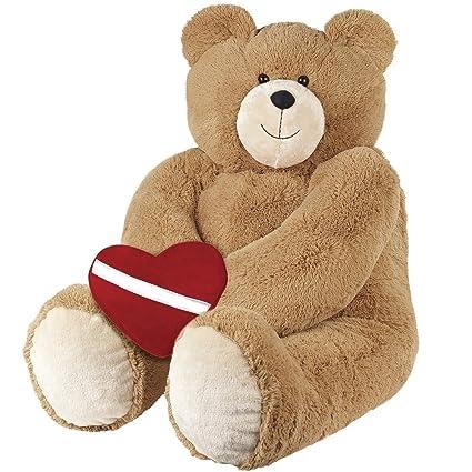 Wonderful Vermont Teddy Bear   4u0027 Big Hunka Love With Huggable Heart Pillow
