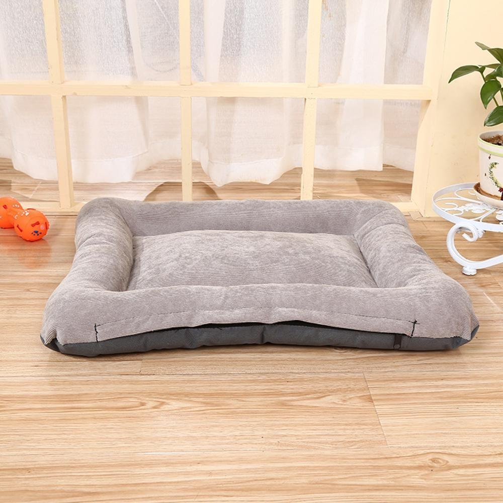 B 77557cm B 77557cm Lozse Pet Beds Dog Seat Cushion Pet Kennel Comfort Oxford cloth washable for Dogs and Cats Sleeping Cushion