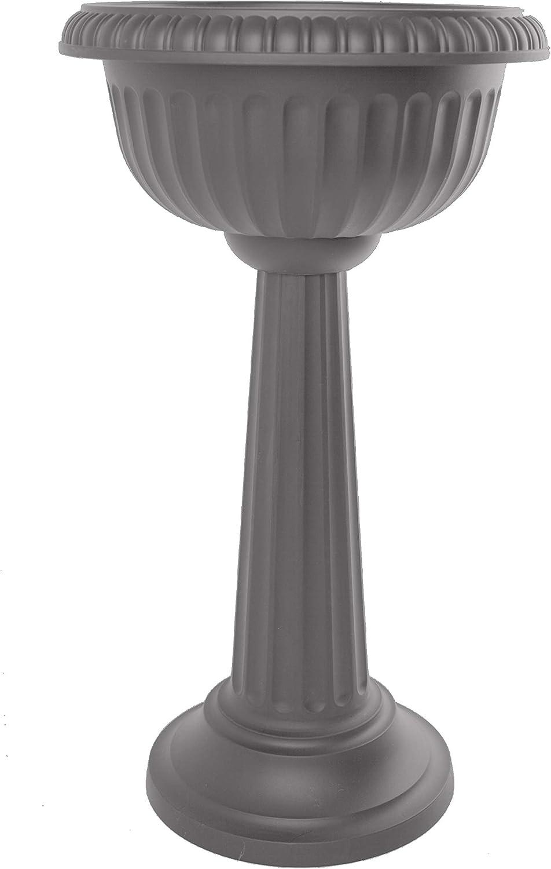 Bloem GU180-908 Grecian Urn Tall Pedestal Planter 32