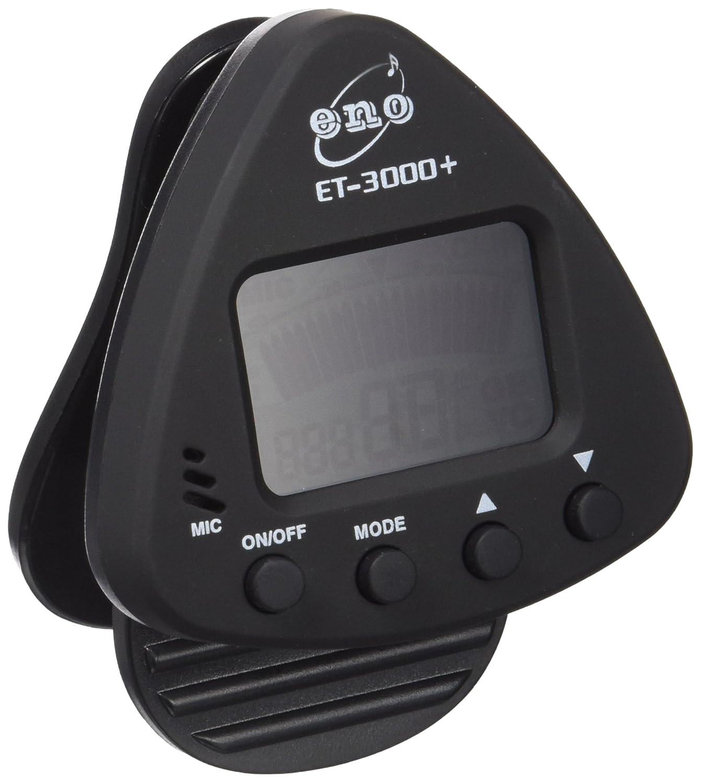 Eno ET 3000 Clip-On-Tuner- Afinador electrónico para guitarra (fijación de pinza), color negro: Amazon.es: Instrumentos musicales