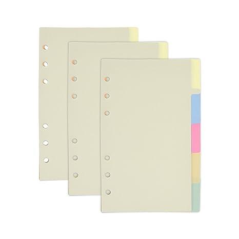 Amazon.com: BCP 3 cuadernos de juego papel divisor tarjetas ...