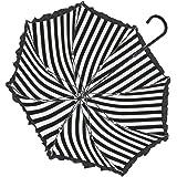 ルミエーブル マリン 全4色 長傘 手開き 日傘/晴雨兼用 ブラック 8本骨 55cm UVカット グラスファイバー骨 耐風傘 0102-12013 [正規代理店品]