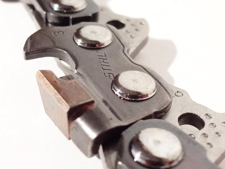 45cm SWS Forst Schwert Set mit 3 HM Sägeketten 3//8 66TG 1,6mm p.f STIHL 046