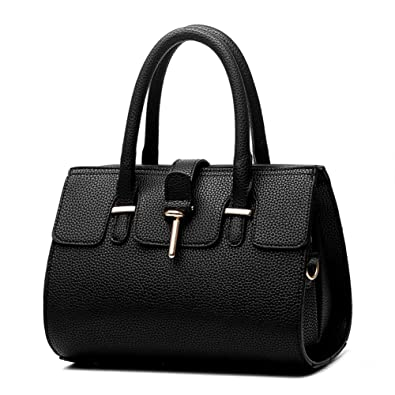 8c6b17df4d9 Women's bags new bag trend style atmosphere fashion handbags shoulder bag  Messenger bag handbag (Black