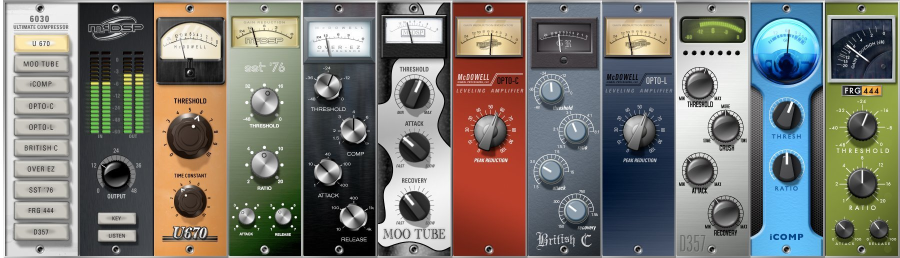 McDSP 6030 Ultimate Compressor Native