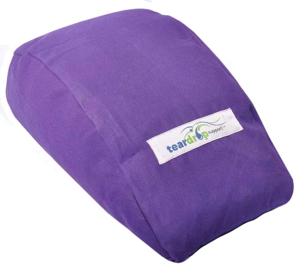Teardrop Support Cushion (Purple)