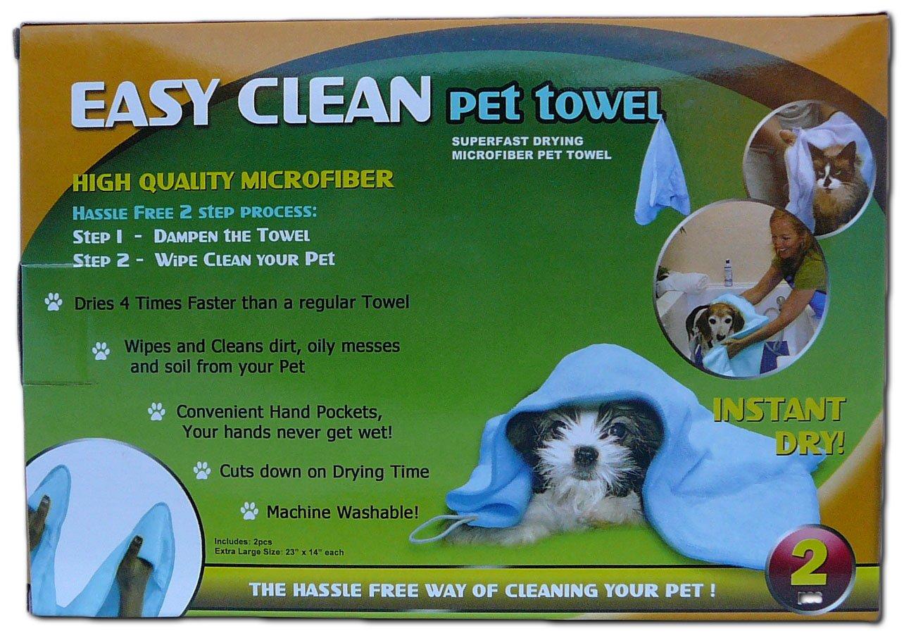 Easy Clean Super Fast Drying Microfiber Pet Towel