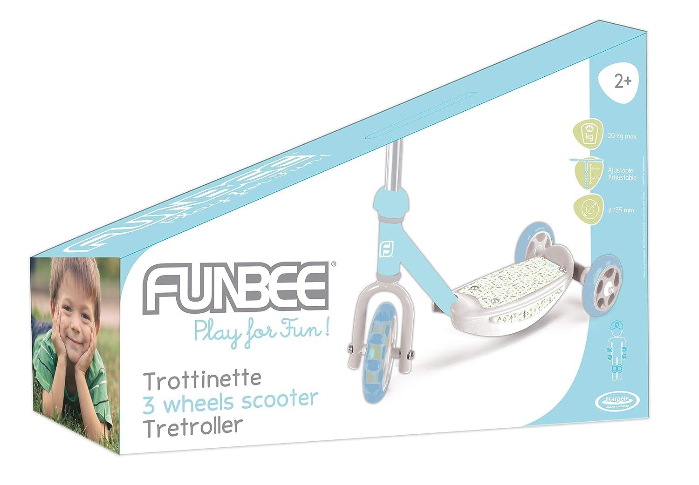 Funbee- Patinete 3 Ruedas (Darpeje OFUN13-M)