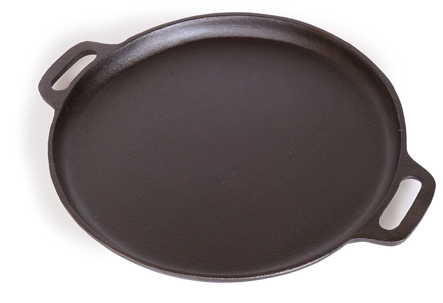 Spiceberry Home Pre-Seasoned Cast-Iron Pizza Pan - 14-Inch