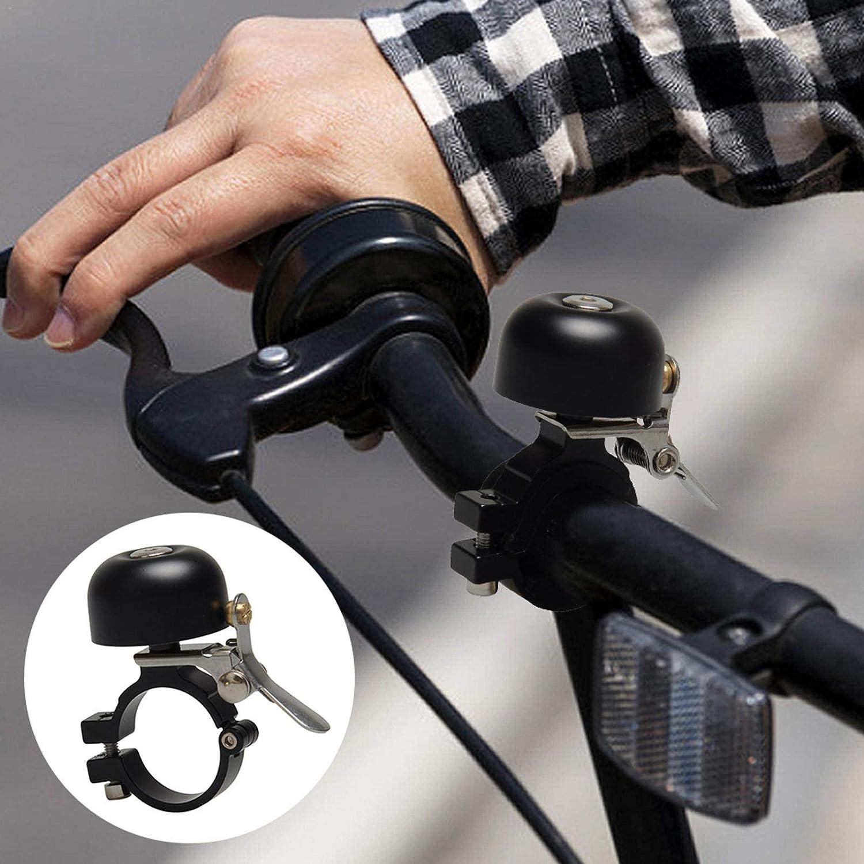 Campana de manillar de bicicleta, sonido nítido, sonido claro, campana de cobre para bicicleta, exquisita bicicleta de carretera, bicicleta de montaña para manillar de bicicleta 22-28 mm