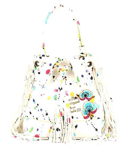 magasin officiel Excellente qualité design exquis Desigual - Sac Bols Arosa Splatter DESIGUAL Blanc