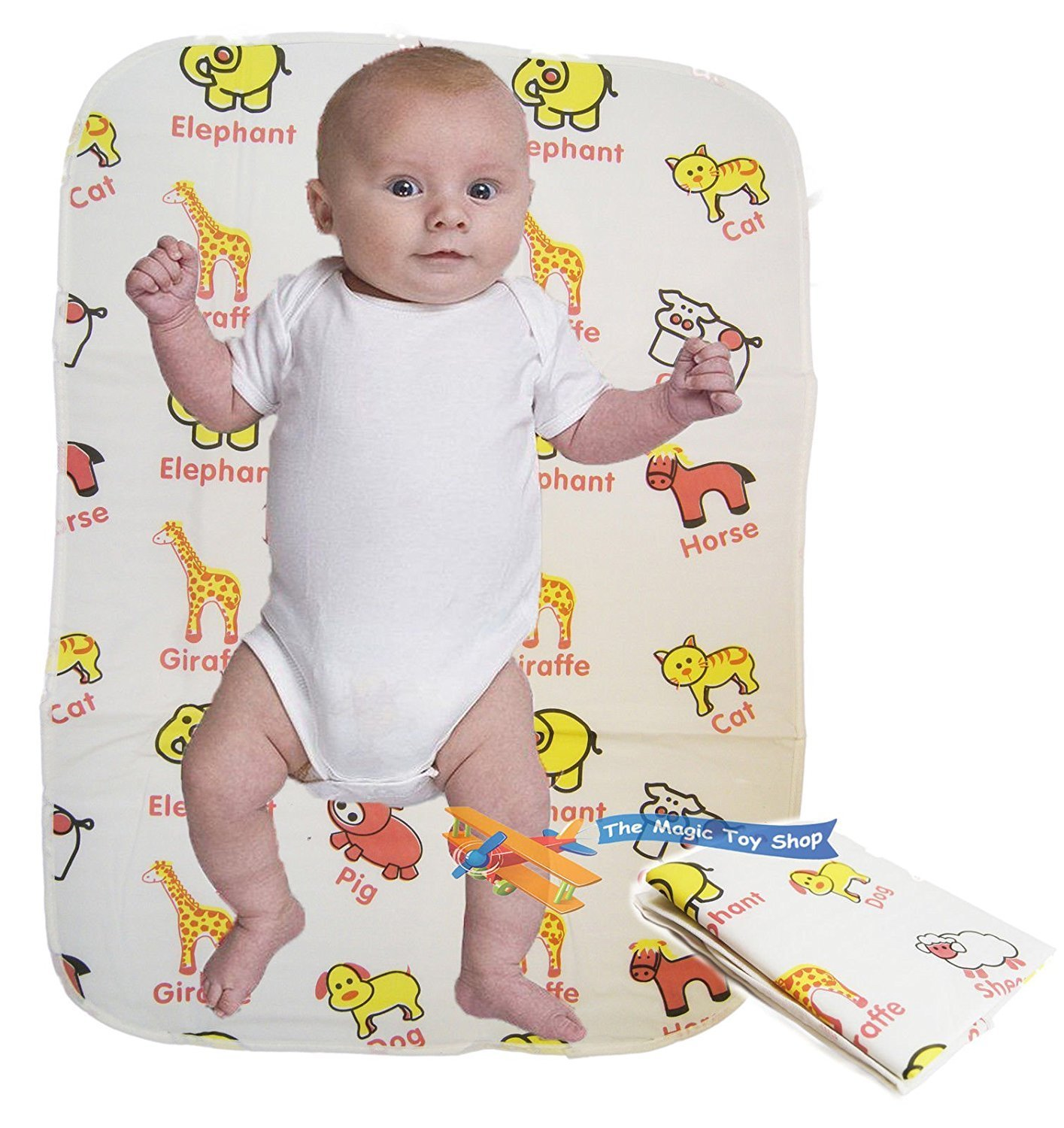 Baby Folding Travel Changing Mat Wipe Clean Waterproof Nappy Bag Size Fold Away MTS