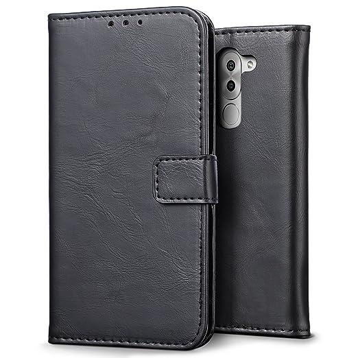 3 opinioni per Custodia Huawei Honor 6X, SLEO Cover Huawei Honor 6X [Premium Portafoglio