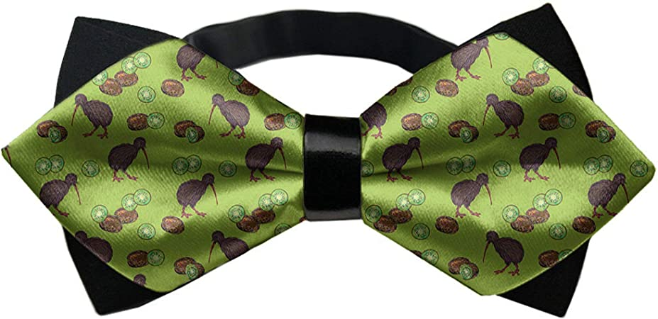 Men/'s Bowtie Green White Polka Dots Wedding Tie Groomsmen Self Tied Bow Tie Ties