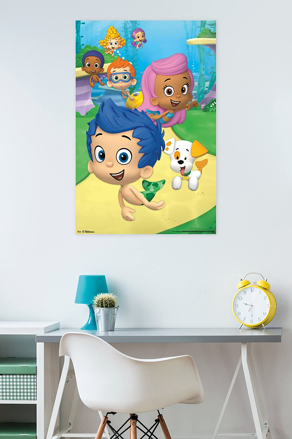 Amazon.com: Trends International Bubble Guppies Group Wall Poster ...