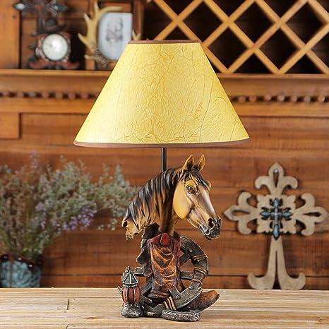CRYGD Lámpara de mesa Lámpara de mesa incandescente Lámpara ...