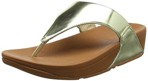 f1066d35a5ce FitFlop Women s Lulu Toe-thong Sandals - Mirror Open  Amazon.co.uk ...