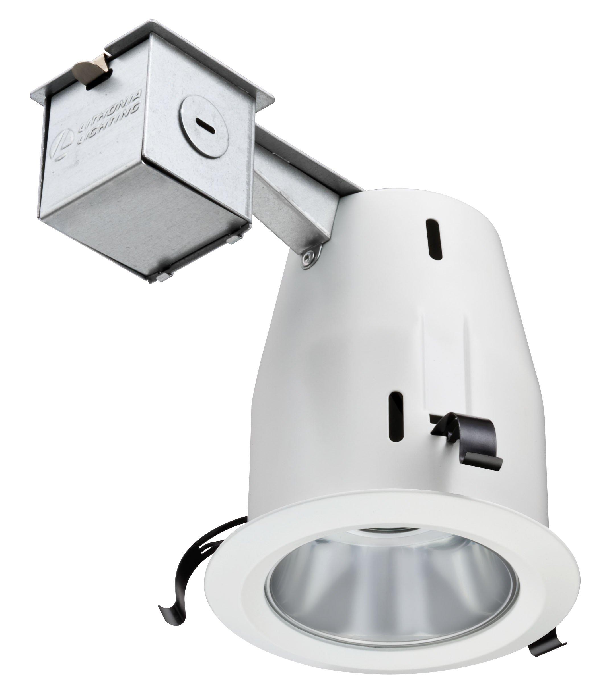 Lithonia Lighting LK4OAZ PFMW 4-Inch Recessed Open Light Kit, White