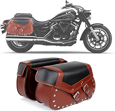 Amazon Com 2pc Heavy Duty Waterproof Motorcycle Saddlebags 2